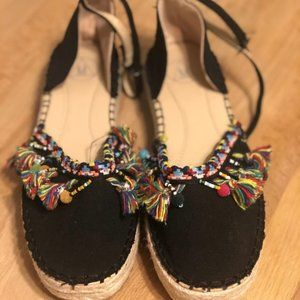 NWOT Missguided Summer Canvas Summer shoes